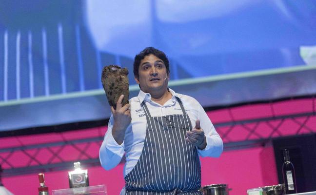 Mauro Colagreco cerró el congreso con los alimentos pobres