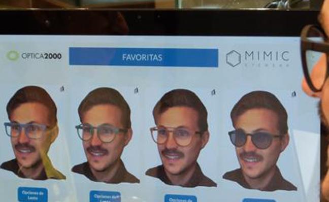 Gafas personalizadas gracias al escaneo facial