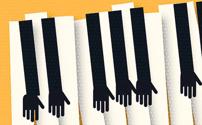 Las primeras notas del piano