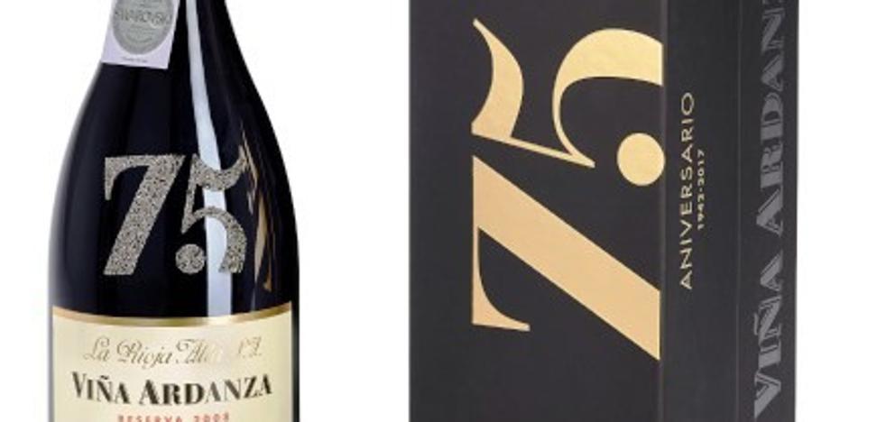 Viña Ardanza celebra su 75 aniversario con 2.000 botellas de tres litros personalizadas con cristales Swarovski