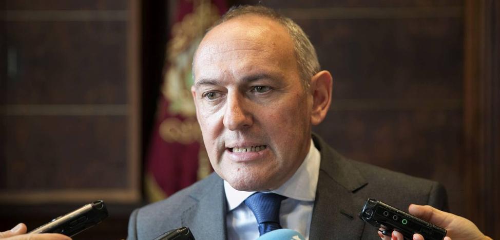 Diputado general de Álava: «La presión ha dado sus frutos»