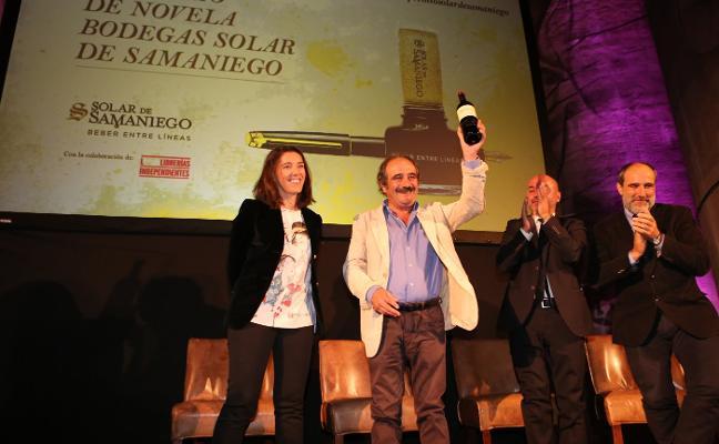 Rafael Reigvence en el III Premio  de Novela Solar de Samaniego