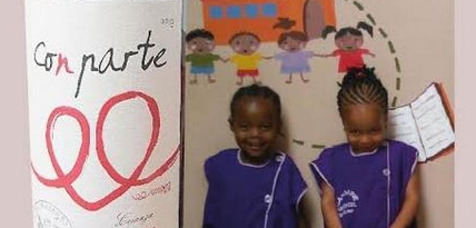 Bujanda y Coopera presentan un vino solidario
