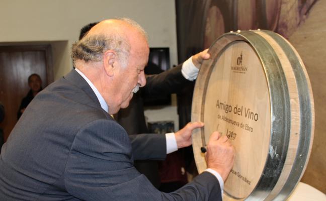 Don Vicente, amigo del vino