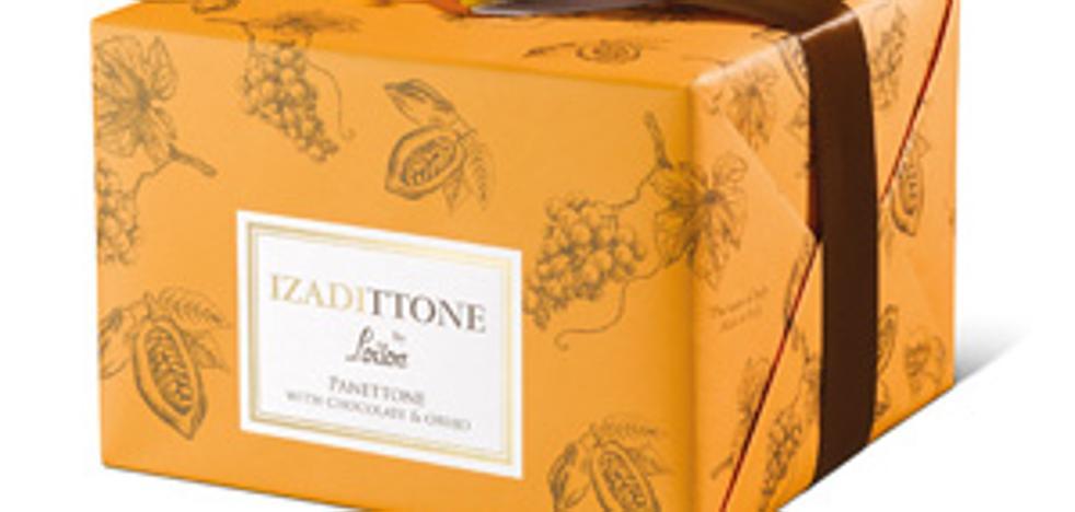 'Panettone' con orujo de uvas de Viña Izadi