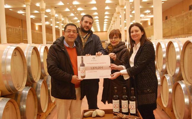 Viña Bujanda dona las ventas de su vino Con-parte a Coopera
