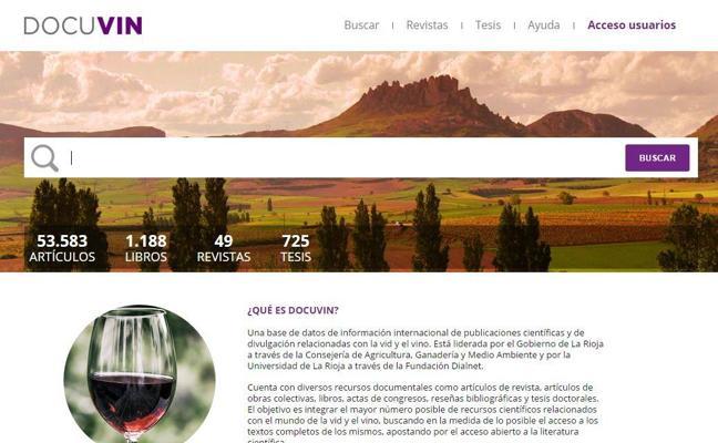 Nace docuvin.es, la base de datos internacional sobre vid y vino
