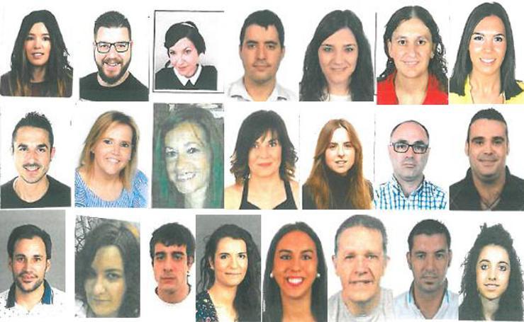 Los candidatos a Vendimiadores 2017