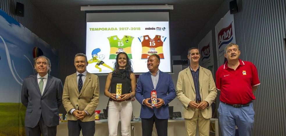 'Minis Arluy', nuevo nombre del Voleibol Ciudad de Logroño