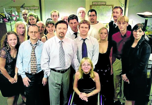 El equipo al completo de 'The Office'. :: r. c.