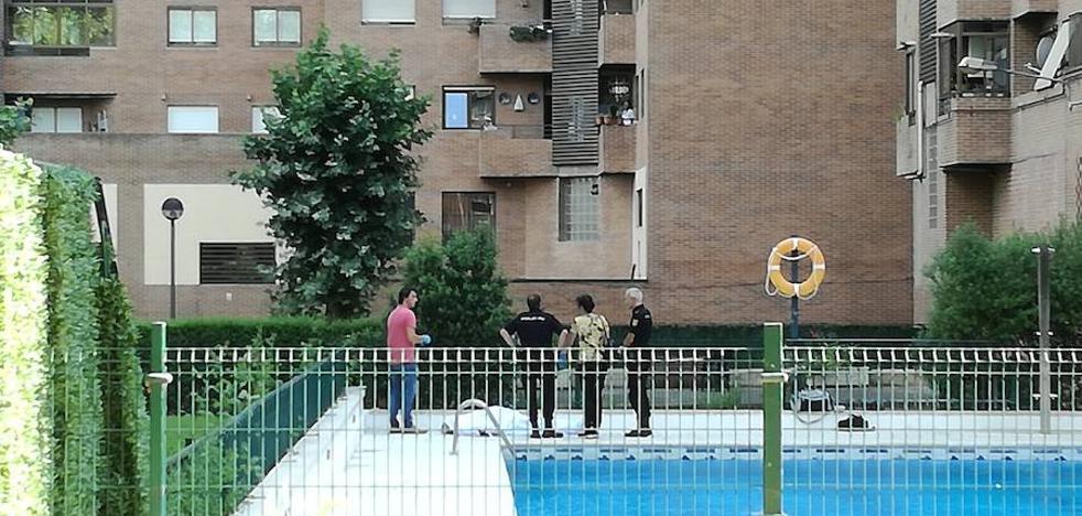 Fallece un hombre en una piscina de Logroño