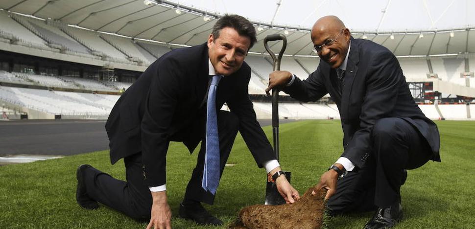 La IAAF suspende de forma provisional a Fredericks, sospechoso de corrupción