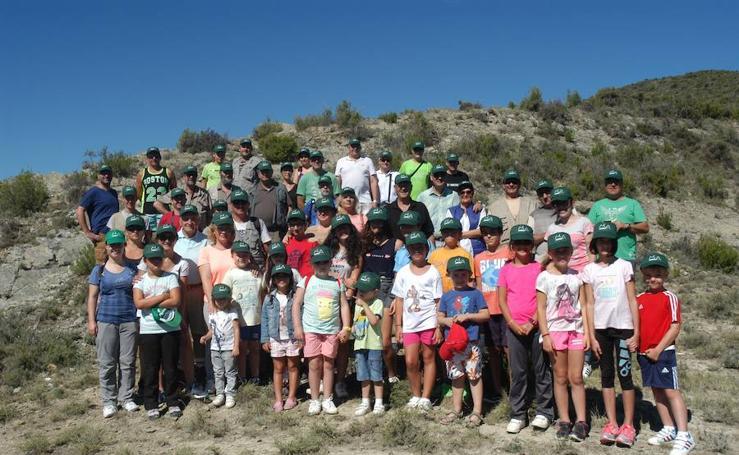 Jornada paleontológica en Los Cayos de Cornago