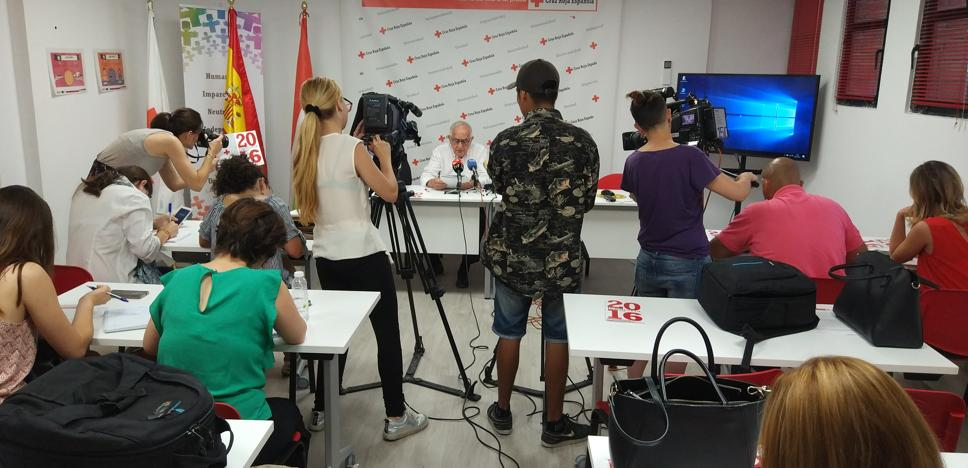 Cruz Roja atendió en 2016 a un 11,6 % de la población riojana