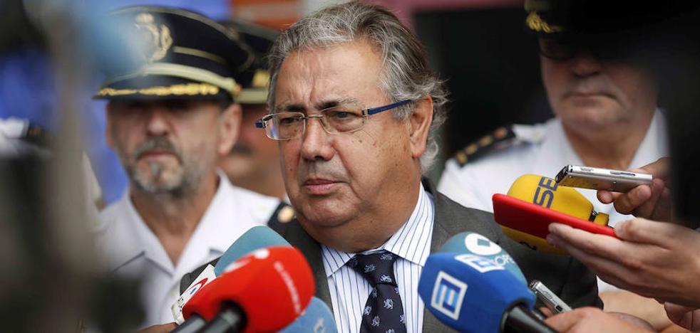 Zoido cree que los Mossos d'Esquadra cumplirán la ley ante el referéndum independentista