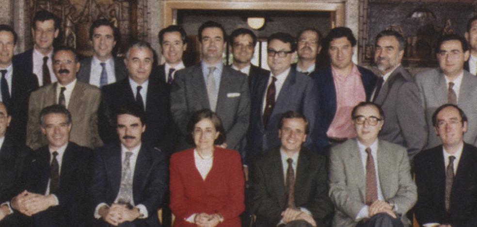 Blesa y Aznar compartieron su primer destino en Logroño