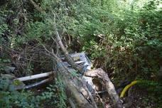 Una toma ilegal extrae más del 50% del agua del río Madre en Viguera