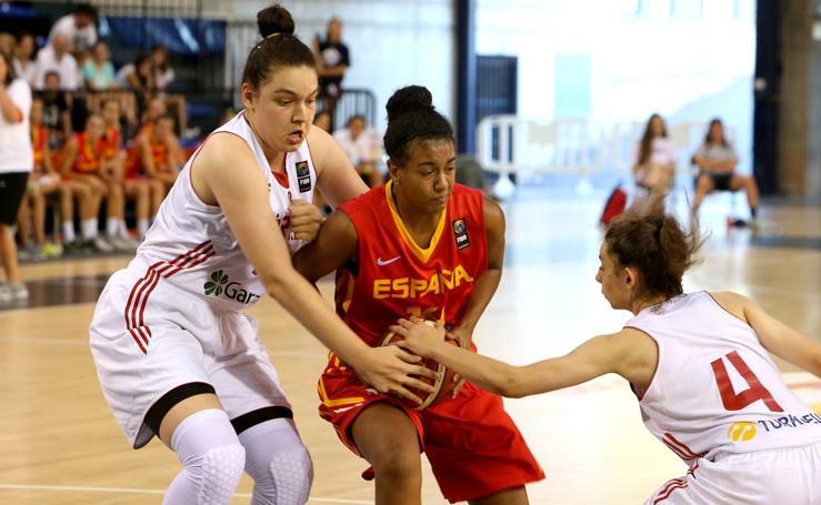 España gana a Turquía en Logroño