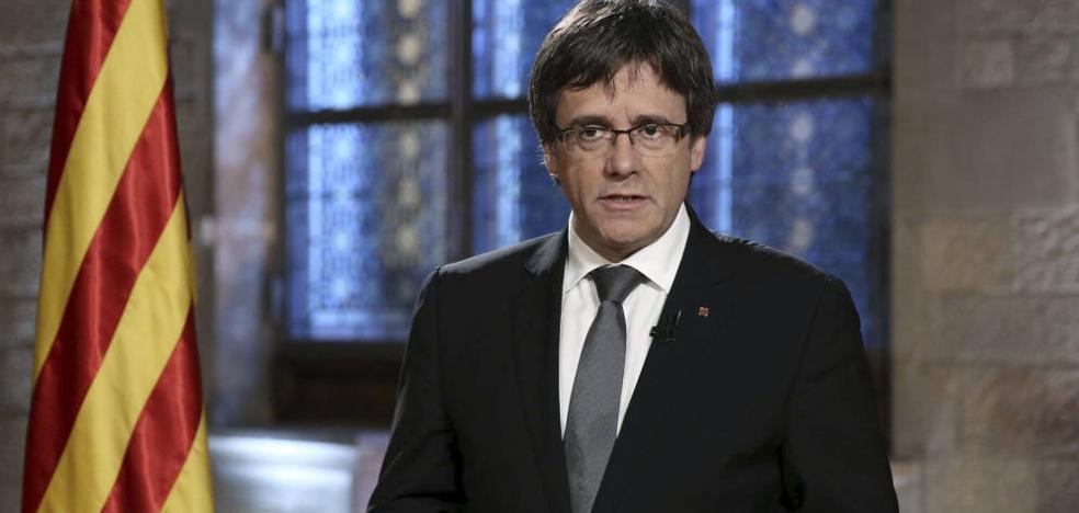 Puigdemont: «Si el Constitucional me inhabilita, no aceptaré esta decisión»