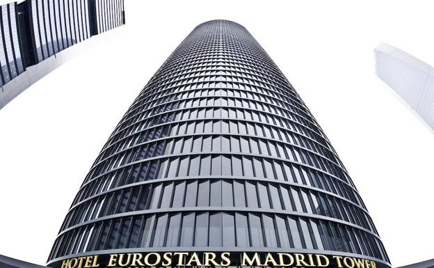 Hotel Eurostars Tower en Madrid.