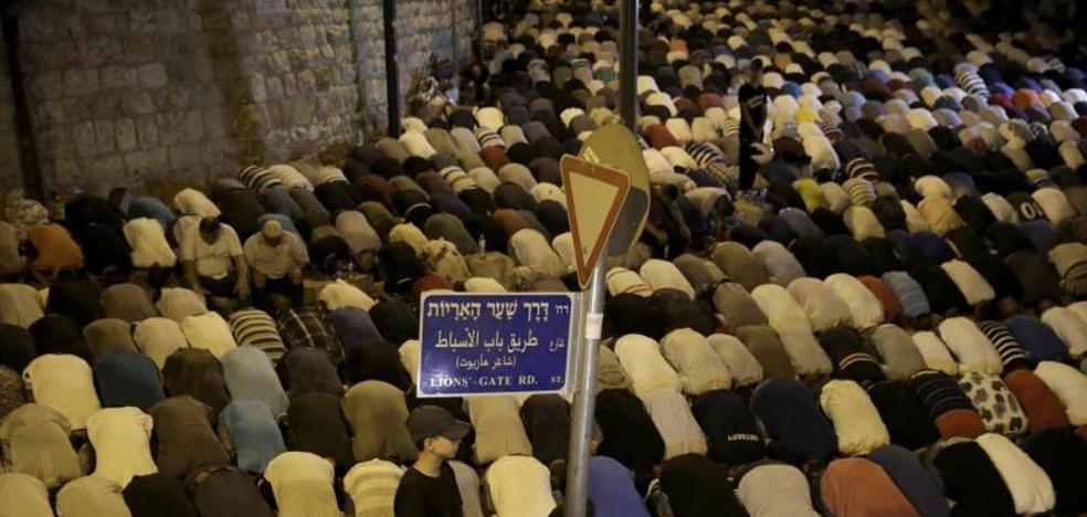 Israel retira los detectores de metal en la Explanada de las Mezquitas