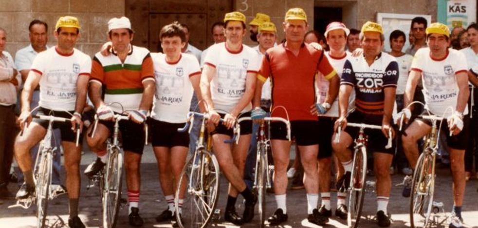 La Retina: aquellos ciclistas de Lardero