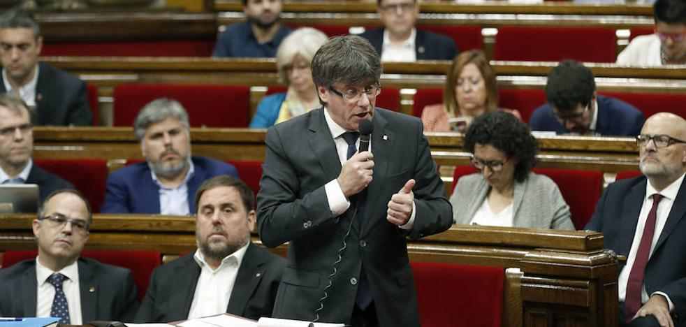 Puigdemont no acatará una inhabilitación del Constitucional porque violaría el Estatut