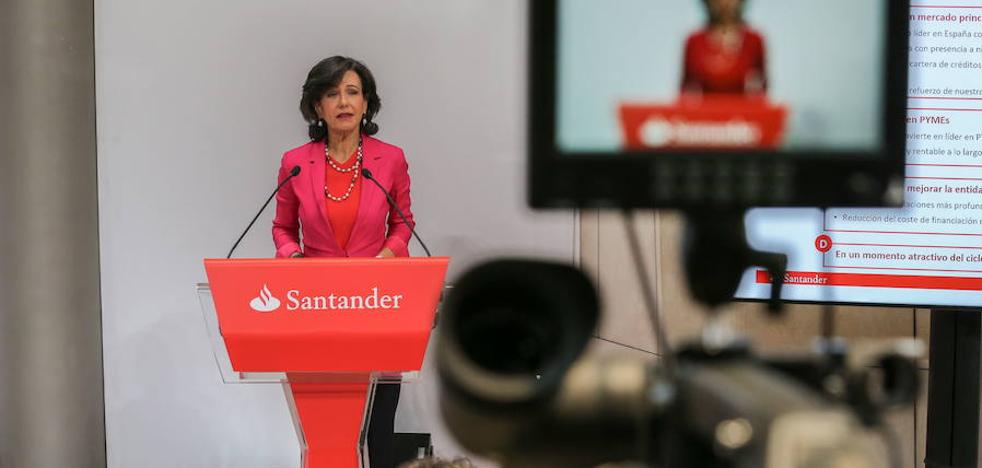 Santander destina 12.400 millones para sanear el Popular