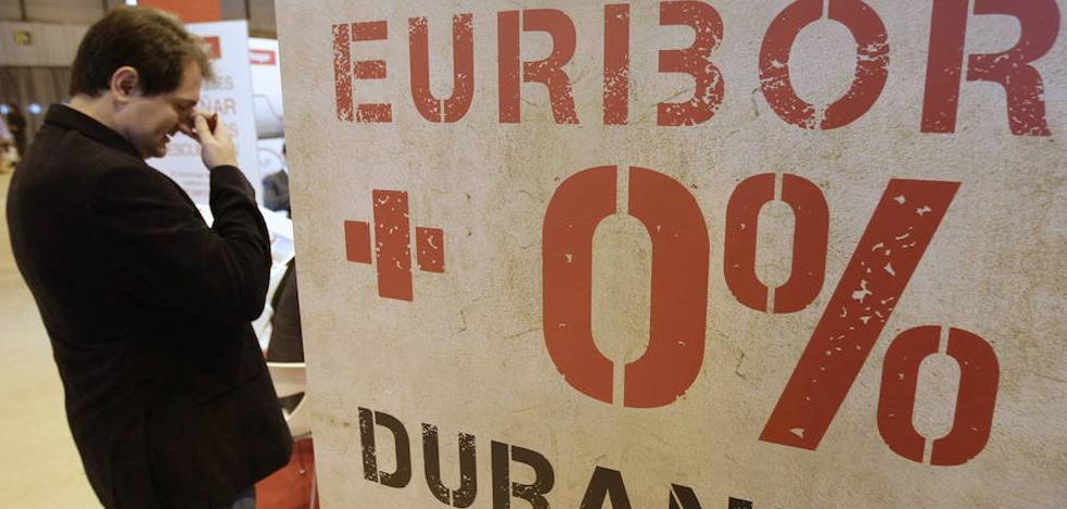 El euríbor cierra julio en otro mínimo con el que se ahorran 50 euros anuales