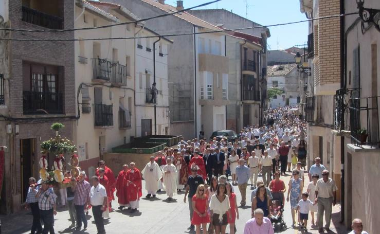 Día grande de las fiestas de San Esteban en Murillo de Río Leza