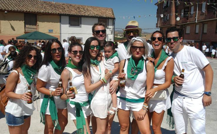 Arrancan las fiestas de Valverde en honor a la Virgen del Rosario y San Vicente Ferrer