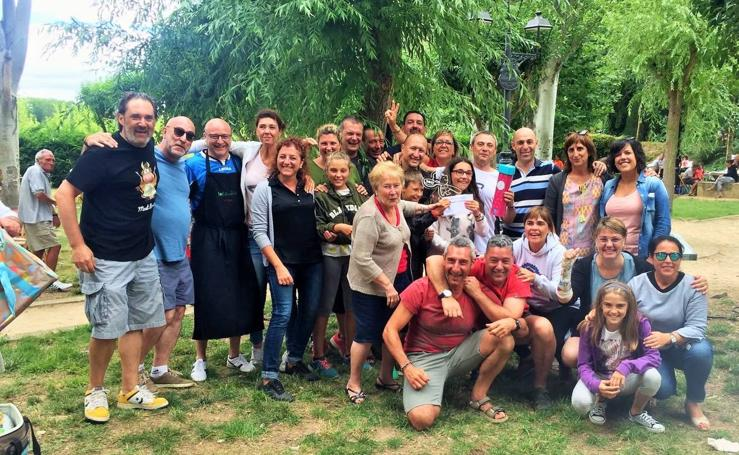 Concurso gastronómico en Casalarreina