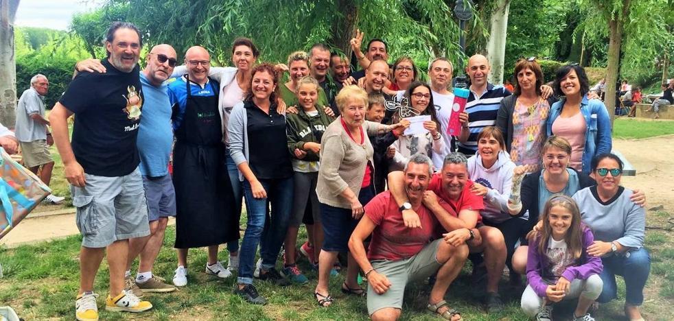 'Lanaro' gana el concurso gastronómico en Casalarreina