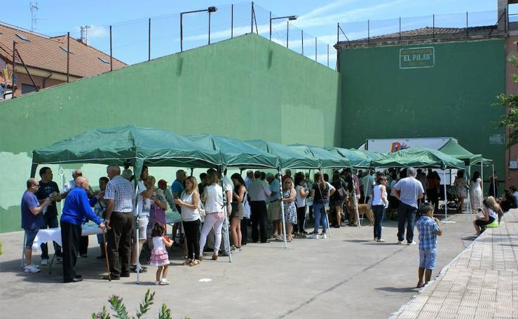 Jamón y pimientos fritos en Cárdenas