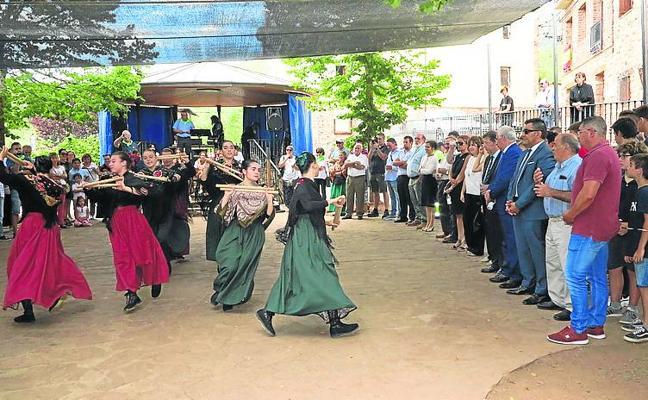 El Rasillo danza por San Mamés