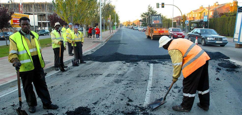 La travesía de Anguciana cierra al tráfico por obras este viernes