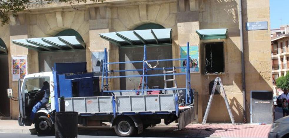 Renovada la pantalla del Teatro Bretón de Haro