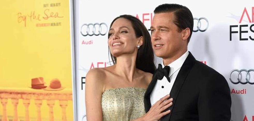 La pareja Pitt-Jolie ha paralizado su divorcio