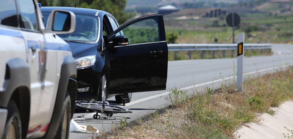 Un ciclista muere en la travesía de Navaridas
