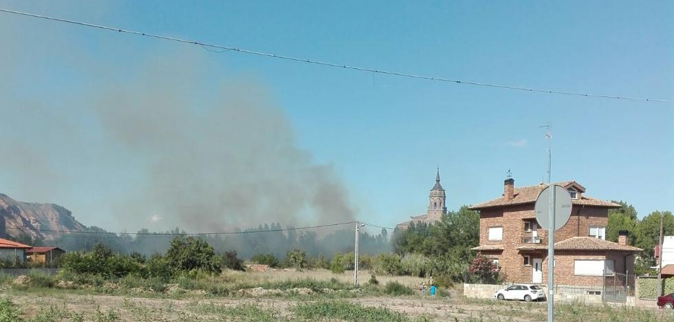 Extinguido un incendio en Murillo