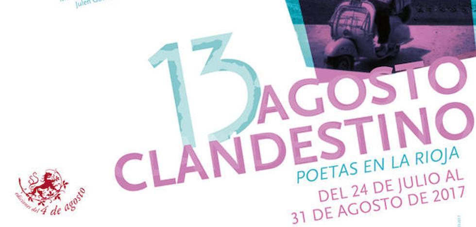 Raúl Herrero y Eduardo Chicharro, protagonistas del martes en Agosto Clandestino