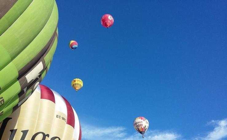 XVII Regata Internacional de Globos Aerostáticos Crianza de Rioja en Haro