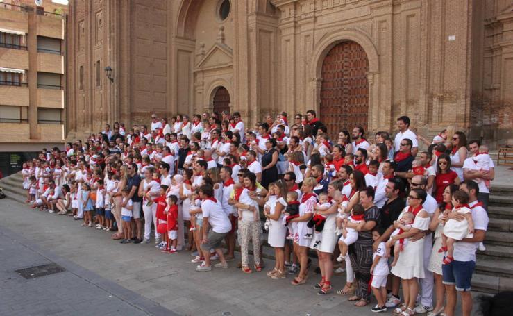 Día de pañuelos en Alfaro
