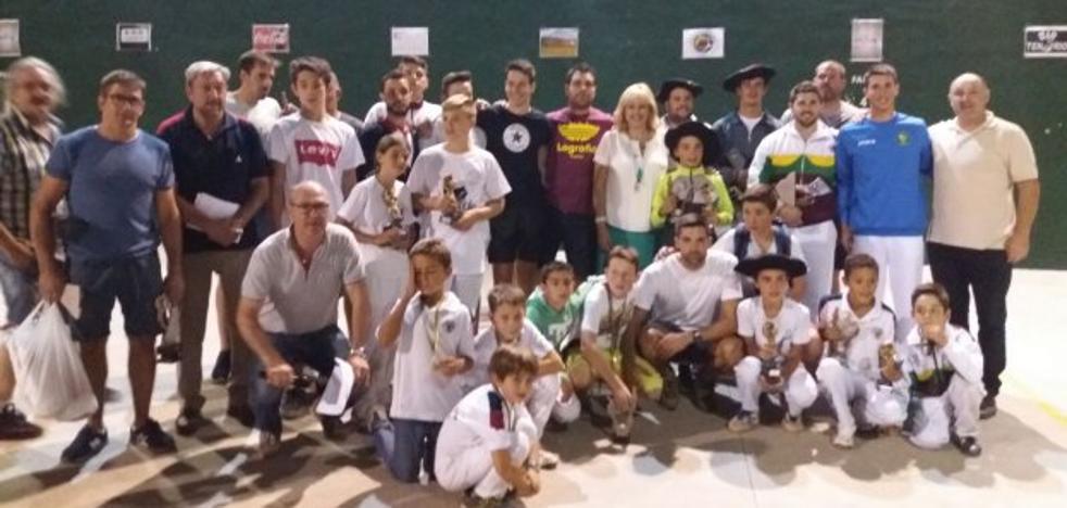 Julen-Marín y Lladó-Ander ganan el Torneo de Ezcaray
