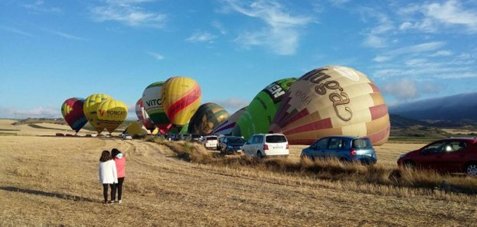 El piloto navarro Ángel Melero vence la regata de globos 'Crianza de Rioja'