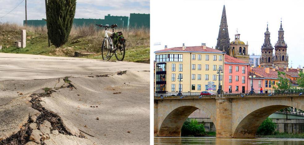 Logroño pide financiación de Fomento para el Puente de Piedra y el camino a La Grajera