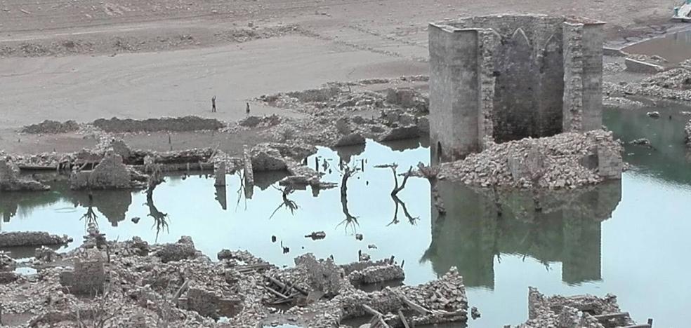 Los embalses riojanos siguen faltos de agua