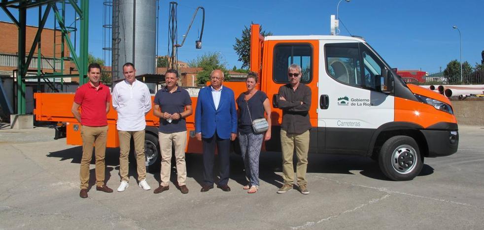 Nuevo vehículo de mantenimiento para las carreteras riojanas