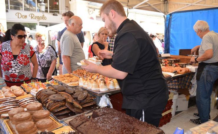 Feria de artesanía de la peña Calagurritana