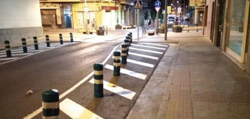 La Guindilla: aparcamientos eliminados sin causa aparente